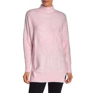 Magaschoni Mock Neck Long Sleeve Dolman Sweater